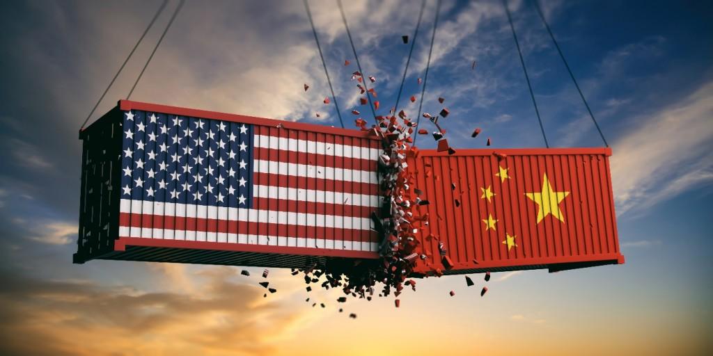 그림1. 미국과 중국의 무역전쟁