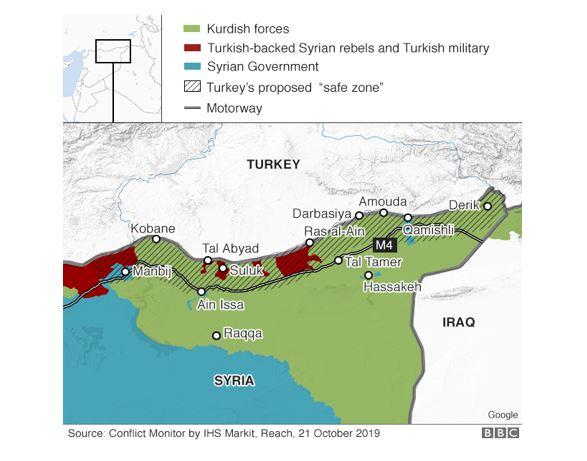 그림_터키의 시리아 쿠르드계 군사작전과 안전지대 설치